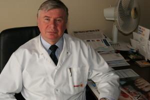 koordynator oddziału dermatologii drn.med.Piotr Jędrzejczyk